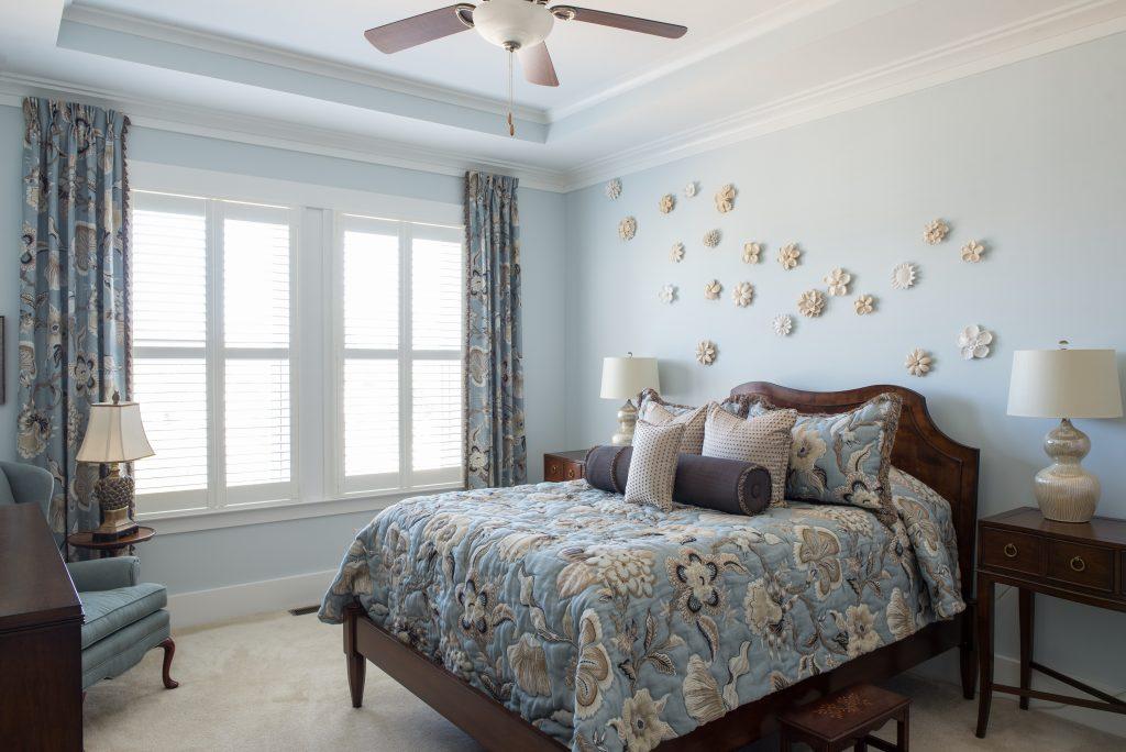 window treatments in bedroom