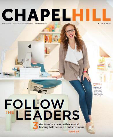 Chapel Hill Magazine Cover
